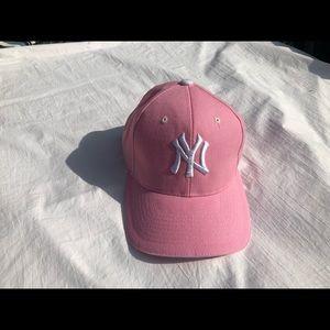 Women's Pink Adjustable Yankees Baseball Hat